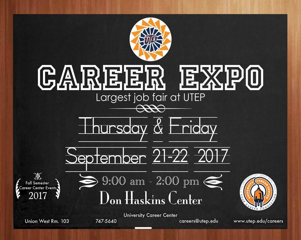 Career Expo  UtepS Largest Job Fair