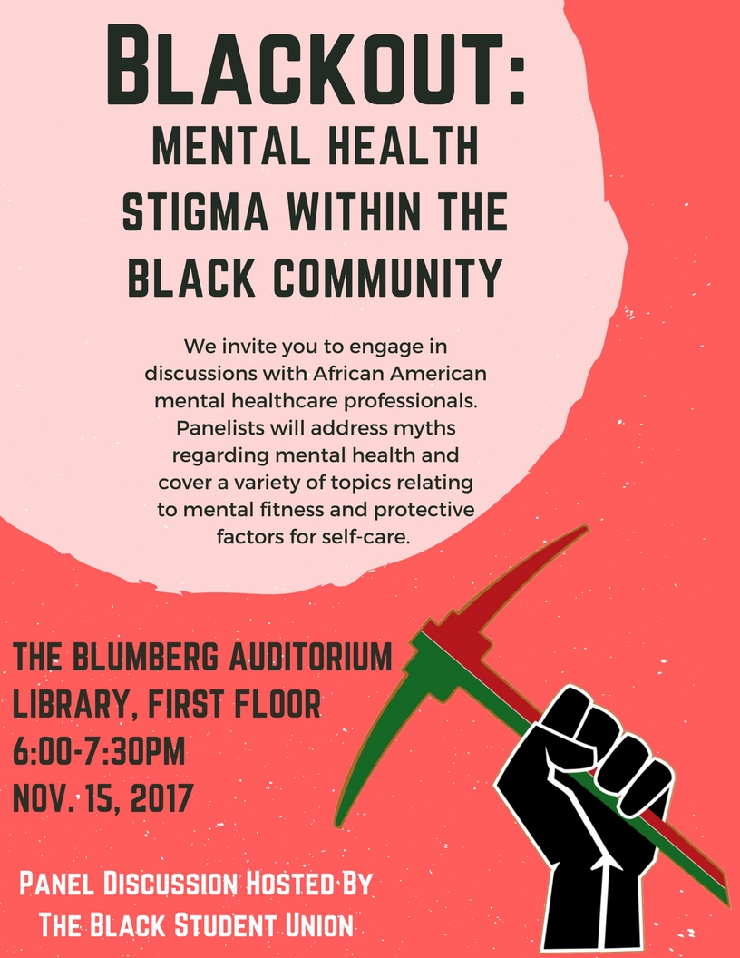Blackout Mental Health Stigma Within The Black Community