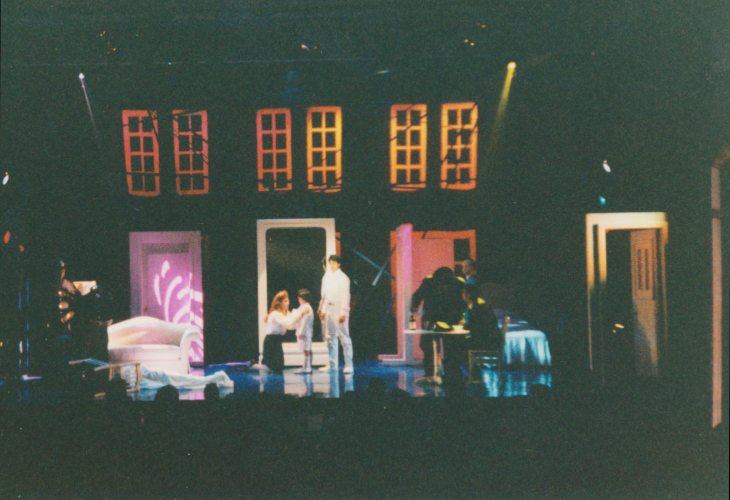 0da98ed043fe The Cast of The UTEP Dinner Theatre production of The Who s Tommy