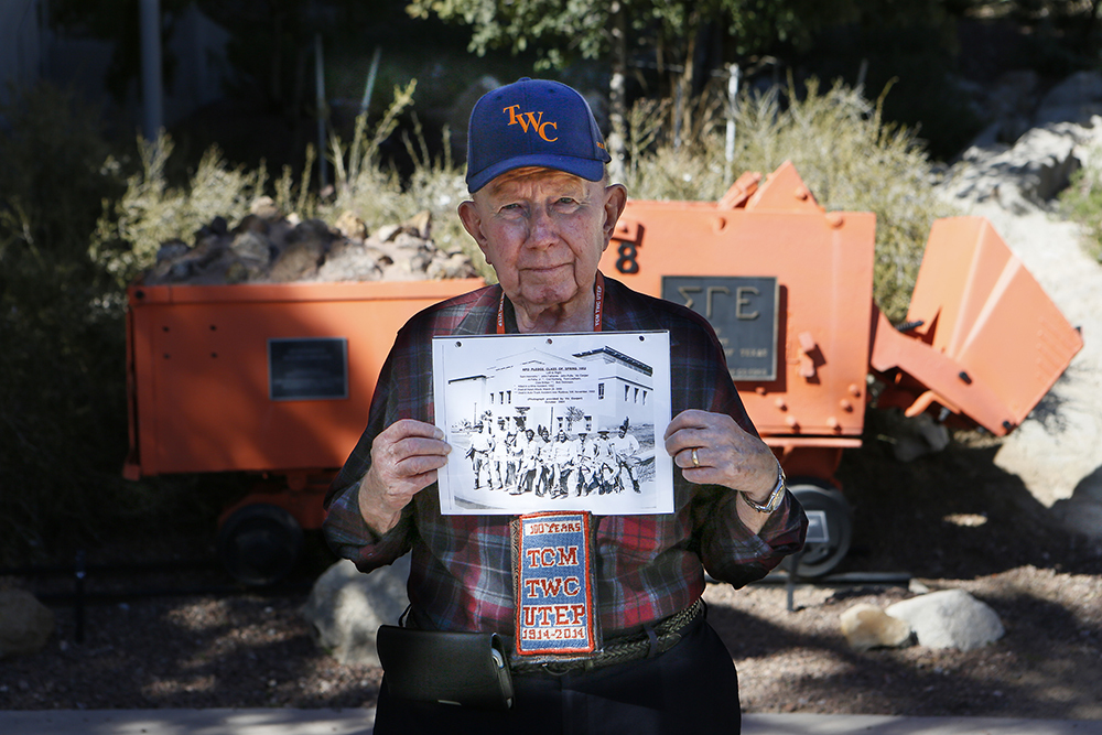 Willie Quinn, a 1954 graduate of Texas Western College, now UTEP, pledged into the Alpha Phi Omega Social Fraternity in 1951. He continues to serve as the ad hoc scribe for the APO Fraternity Alumni Group.