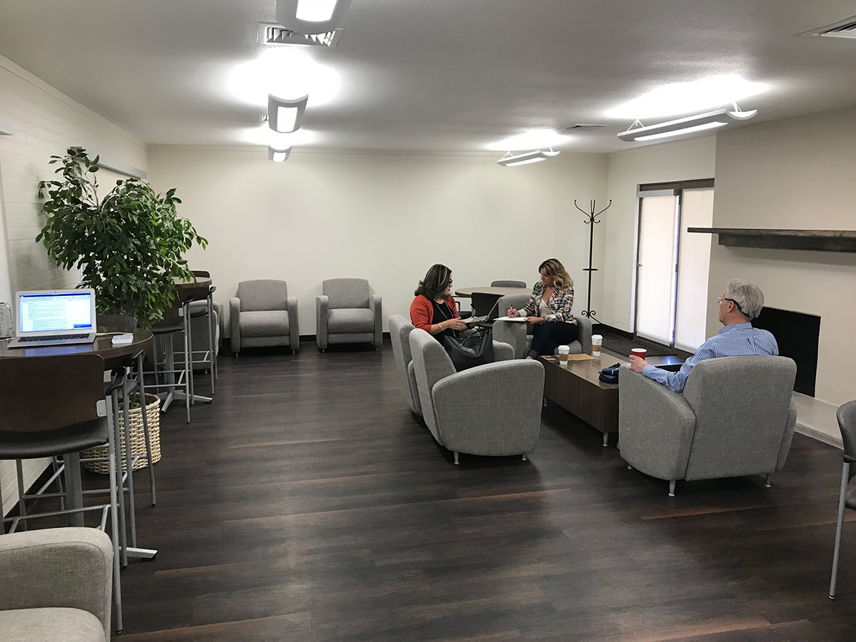 The goal of the new Faculty Center and Lounge in UTEP's Honors House is to give professors a comfortable, centralized place to meet, work or just take a break.  Photo: Courtesy of UTEP's Center for Faculty Leadership and Development