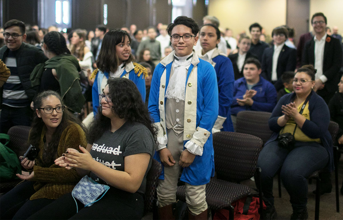 "Organizers of this year's 22nd annual El Paso History Day contest expect about 400 students from the region's public, private and charter high schools and middle schools to participate in this year's event, which is themed ""Triumph and Tragedy in History."" Photo: UTEP Communications"