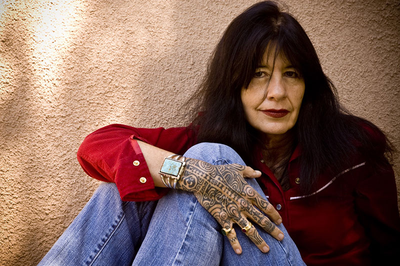 U.S. Poet Laureate Joy Harjo will participate in the virtual Somos Writers Spring Series hosted by The University of Texas at El Paso's Department of Creative Writing at 6 p.m. MDT Friday, April 16, 2021, on Zoom. Photo: Courtesy