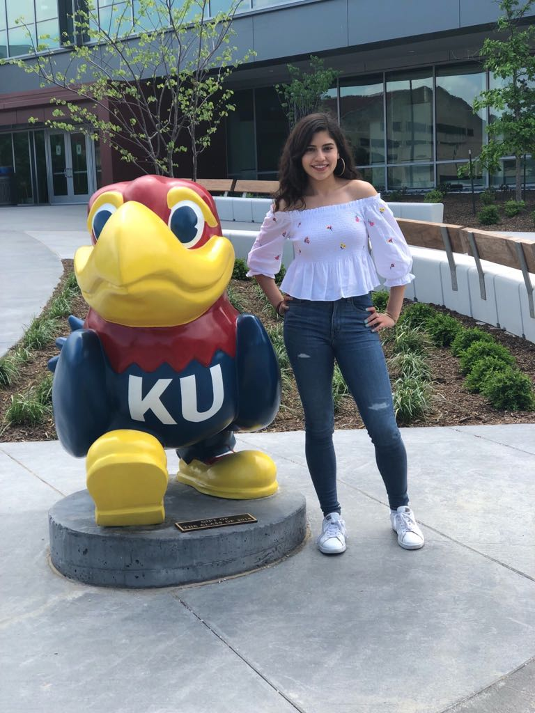 Recent UTEP graduate Samantha Sam Natera said it was the support and encouragement offered by members of her UTEP family that helped her get into the University of Kansas School of Law. Photo: Courtesy of Sam Natera