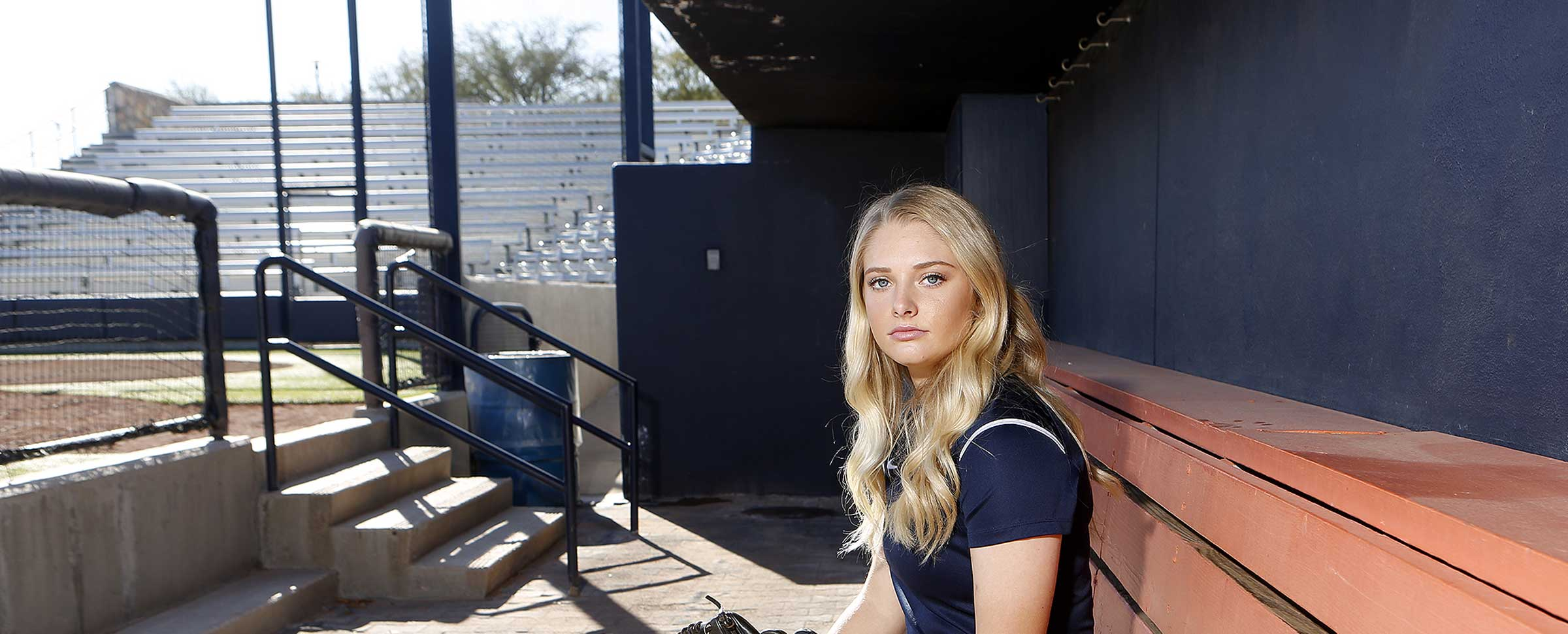 Miner Lives Lifelong Dream of Playing Softball