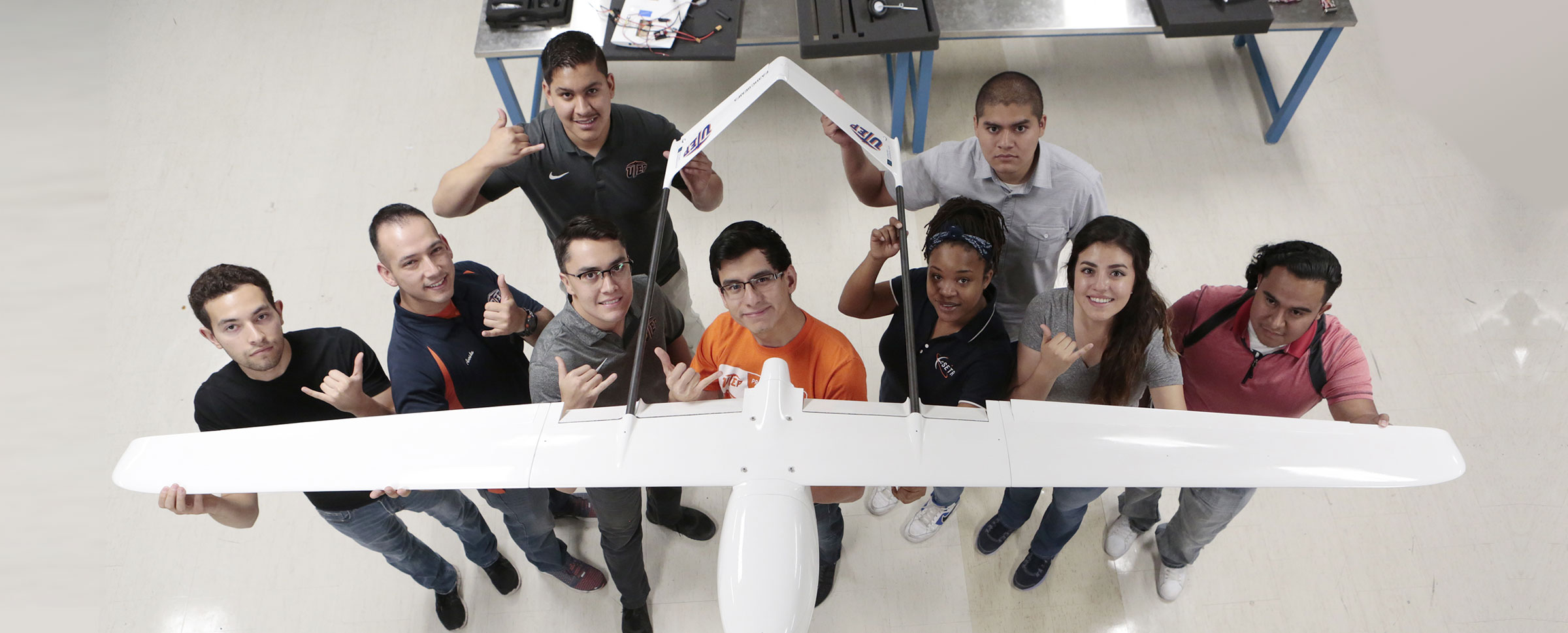 Engineering and Computer Science Students Develop Unmanned Systems Technology