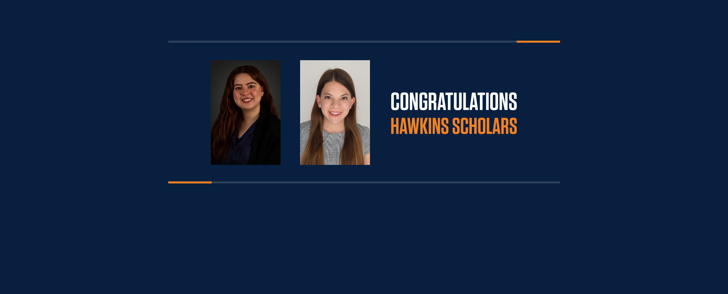 UTEP Names Winners of Inaugural Hawkins Scholarship