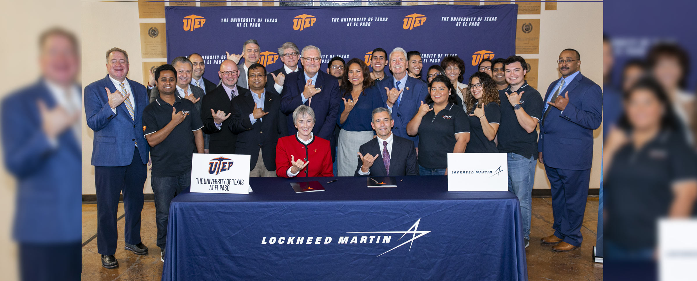 UTEP and Lockheed Martin Sign Agreement to Employ Students in El Paso