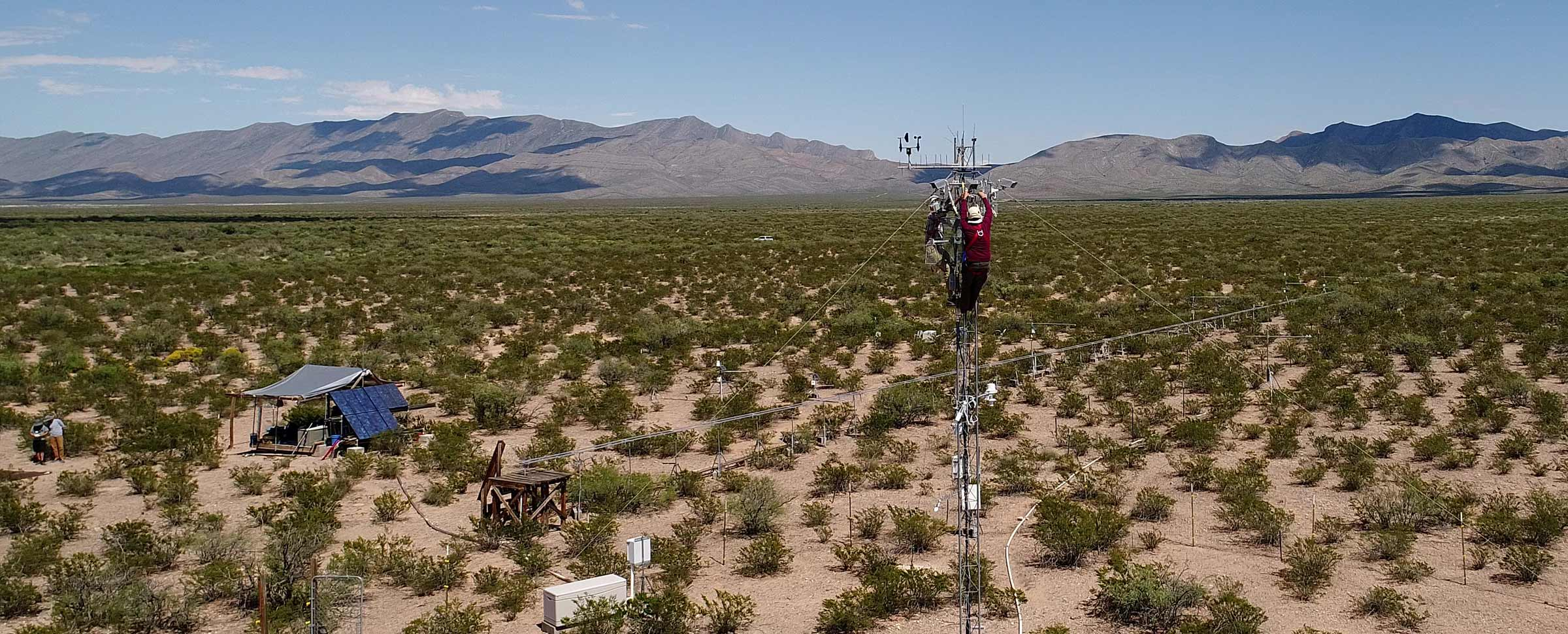 NSF Awards UTEP $5 Million to Lead Study of Earth's Surface in Drylands