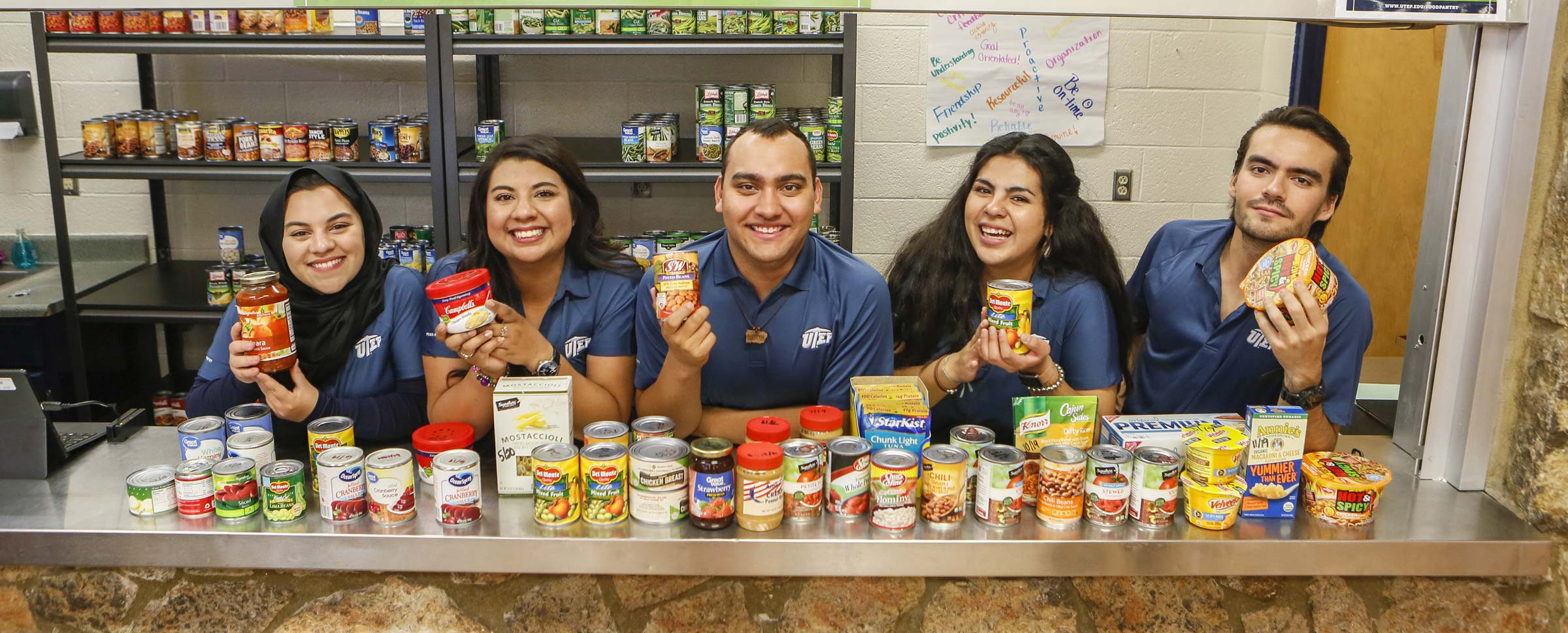 UTEP Students Can Find Comfort at Food Pantry