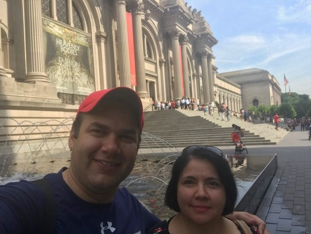 Rick Acevedo is doctoral student in The University of Texas at El Paso's Educational Leadership and Foundations program. His wife, Rocio, is a doctoral student in the Teaching, Learning, and Culture program.