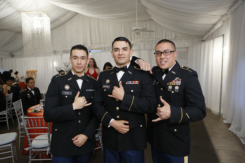 UTEP's military science program celebrated its annual Military Ball on April 5, 2019, at Grace Gardens Event Center. Photo by J.R. Hernandez / UTEP Communications