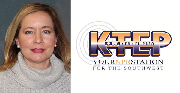 Angela Kocherga, news director at KTEP-FM (88.5), reported and produced two news projects that earned the public radio station Edward R. Murrow Awards, which are among the most prestigious honors in broadcast news.