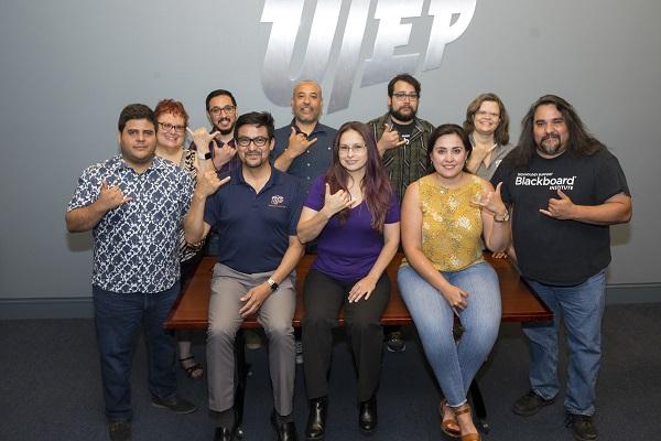 """Photo Description"""" Photo: UTEP Communications"""