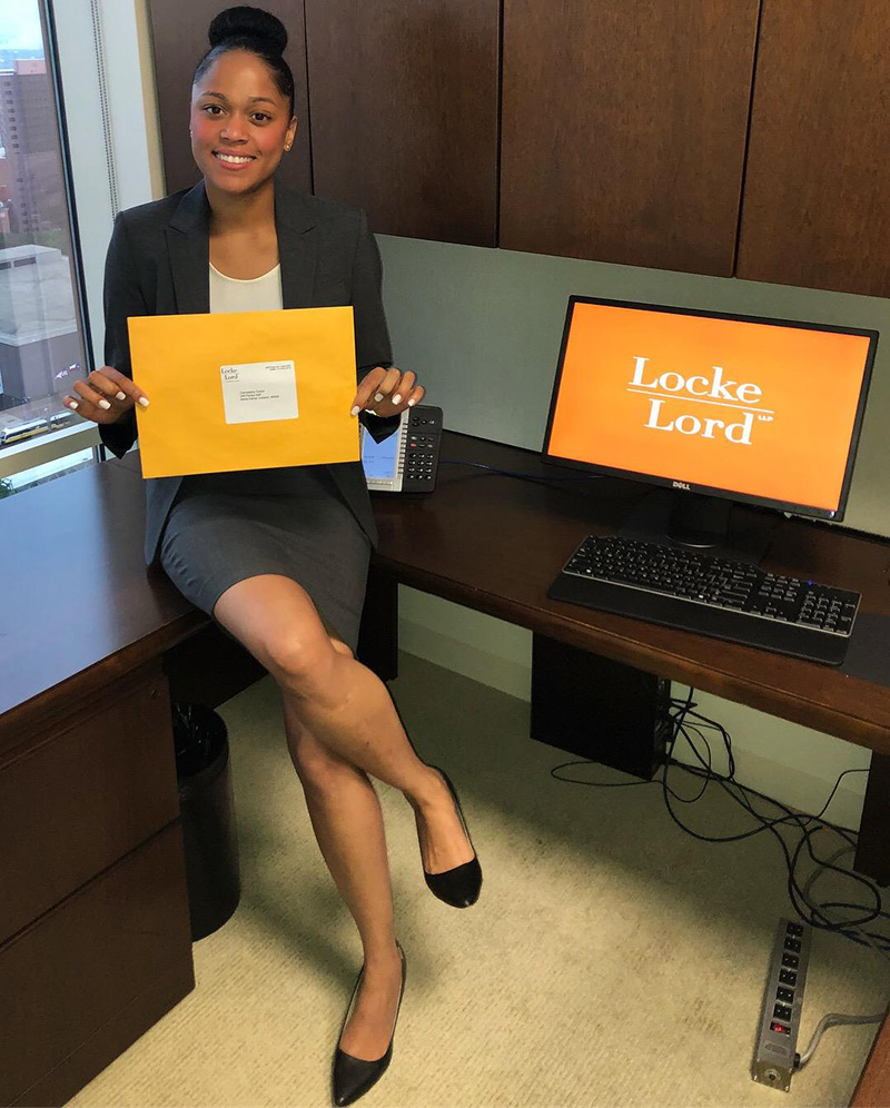 Cameasha Turner is a 2016 UTEP alumna who is a first-generation college graduate and was a standout member of the UTEP women's basketball team. Today, she's a lawyer in Dallas with a bright future.