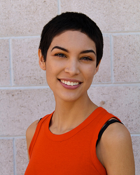 UTEP junior theatre performance major Larissa Arzate won the Irene Ryan Acting Competition at the Region 6 Kennedy Center American College Theatre Festival Feb. 25-28 in Abilene, Texas.