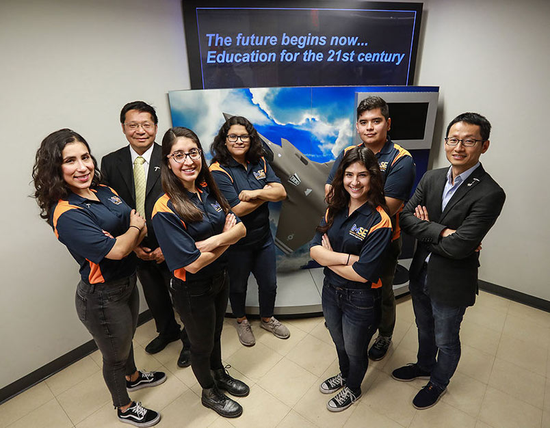 Students in three departments within UTEP's College of Engineering will be poised for future employment opportunities thanks to a 120,000 pledge from Lockheed Martin Aeronautics to support interdisciplinary research involving artificial intelligence.