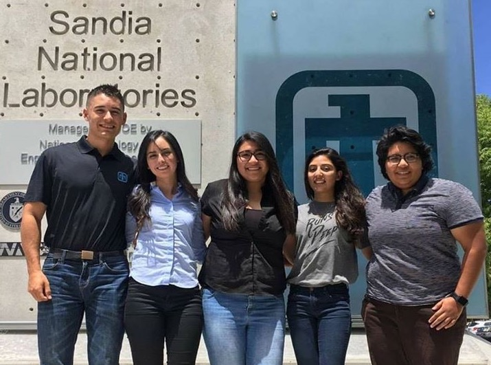 The University of Texas at El Paso was awarded a $1 million grant from the National Nuclear Security Administration to support a program to expose underrepresented students to energy systems research and prepare them for competitive jobs in the nuclear energy industry. Photo: Courtesy
