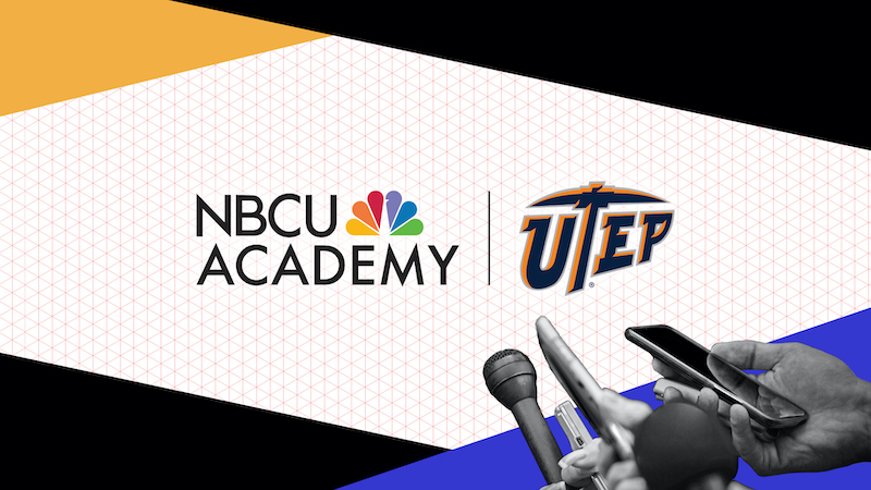 UTEP communication students and faculty members will benefit from a new corporate collaboration with NBCUniversal News Group that will involve internships, training and development programs focused on diversity, equity and inclusion.