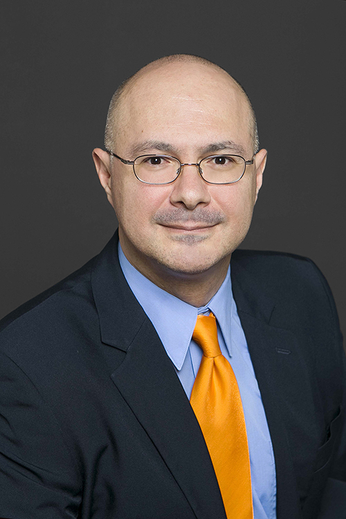 Giulio Francia, Ph.D., associate professor of biological sciences at The University of Texas at El Paso, has been selected to be a Fellow in The University of Texas System Academy of Distinguished Teachers. Photo: UTEP Communications