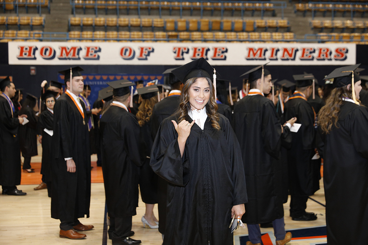 This spring, The University of Texas at El Paso will celebrate spring graduates during four Commencement ceremonies held on two days. Approximately 3,000 graduates and candidates are eligible to walk the stage during UTEP's multiple Commencement ceremonies.