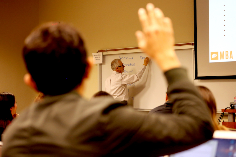 The University of Texas at El Paso's Master of Business Administration (MBA), long recognized for its high quality and great value, is optimizing its programs to meet the needs of the modern business professional. Rolling out in Fall 2020 are two streamlined delivery formats: the Professional MBA (PMBA) and the hybrid Executive MBA (EMBA). Photo: Courtesy of UTEP College of Business Administration