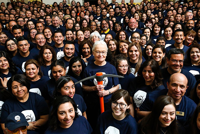 The Austin American-Statesman published a profile on UTEP President Diana Natalicio in which she reflects on her years of leadership. Photo: UTEP Communications