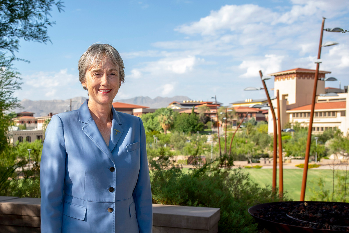 UTEP President Heather Wilson has been named a recipient of the Eisenhower Award, a recognition of prominent leadership given by the Center for the Study of the Presidency and Congress. Photo: UTEP Communications