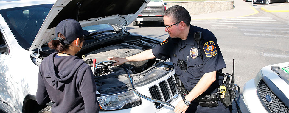 Motor vehicle assistance for Motor vehicle services division